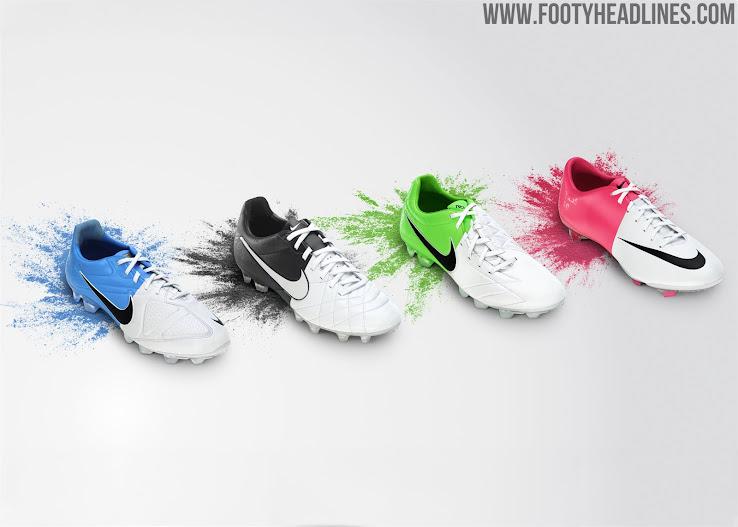 soporte Cámara flotador  Classy White / Black Euro 2012 Inspired Nike Premier II Boots Released -  Footy Headlines