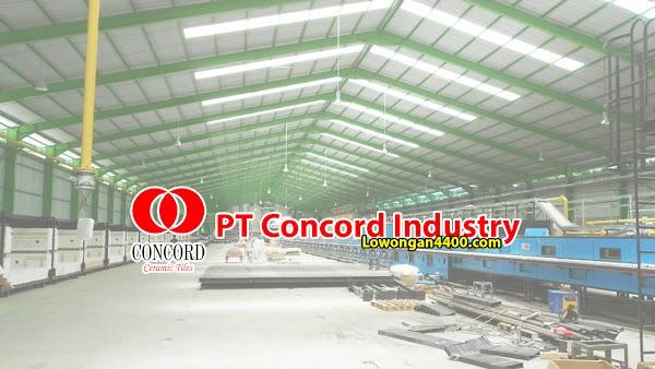 Lowongan Kerja PT Concord Industry Karawang 2019