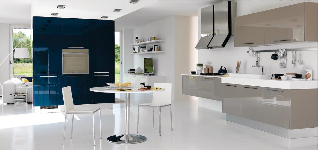 Hogares Frescos: Cocinas Abiertas, Modernas y con Algunos Destellos ...