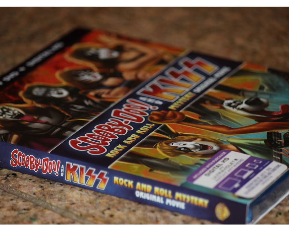 Scooby Doo And Kiss Rock And Roll Mystery On Dvd Mommy Katie