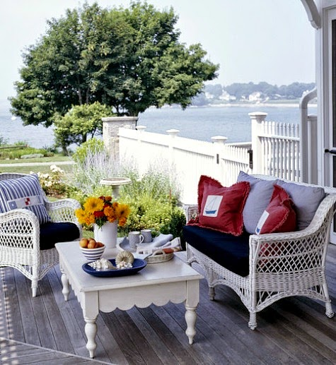 Top Coastal Summer Porches Completely Coastal