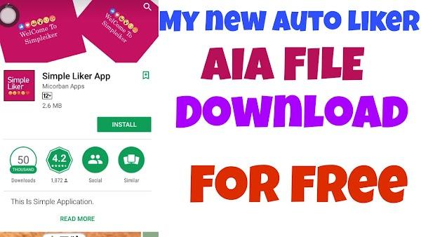 Auto like AIA file for thunkable