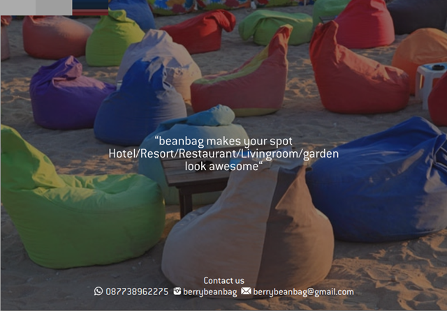 Berry Bean Bag Jogja
