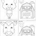 Animales de la Granja - Marionetas de papel