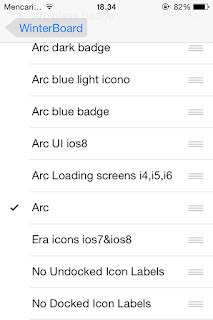 Mempercantik dan Memperindah Tampilan Homescreen IOS di Iphone