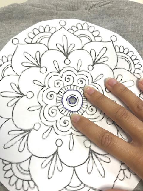 Buzo pintado a mano