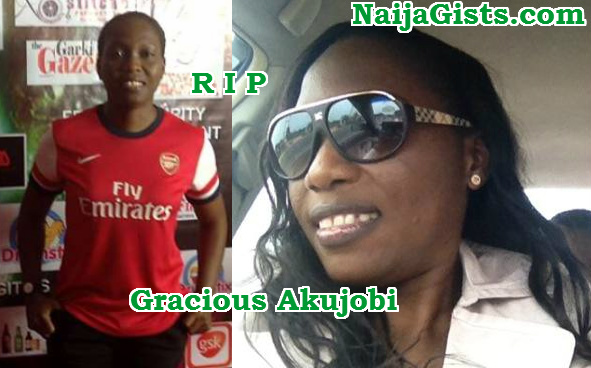 gracious akujobi dead