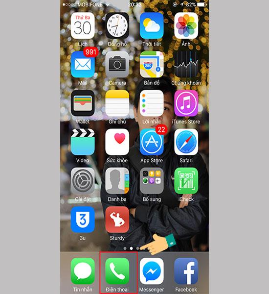 Làm sao để chặn cuộc gọi ngoài danh bạ cho iPhone 2