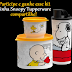 Sorteio - Kit do Snoopy