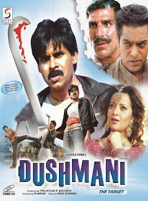 Poster Of Dushmani The Target (2005) In hindi dubbed Dual Audio 300MB Compressed Small Size Pc Movie Free Download Only At worldfree4u.com