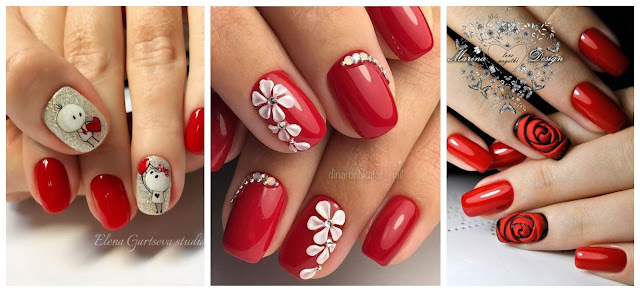 manicura-diseño-rojo