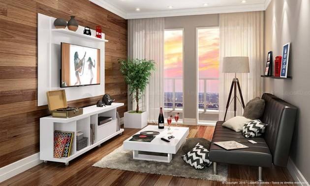 Construindo Minha Casa Clean 10 Dicas Rápidas Decoração  ~ Quarto Planejada Para Apartamento