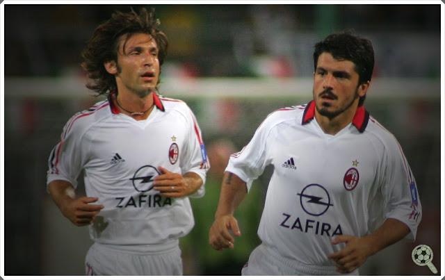 Andrea Pirlo Gennaro Gattuso