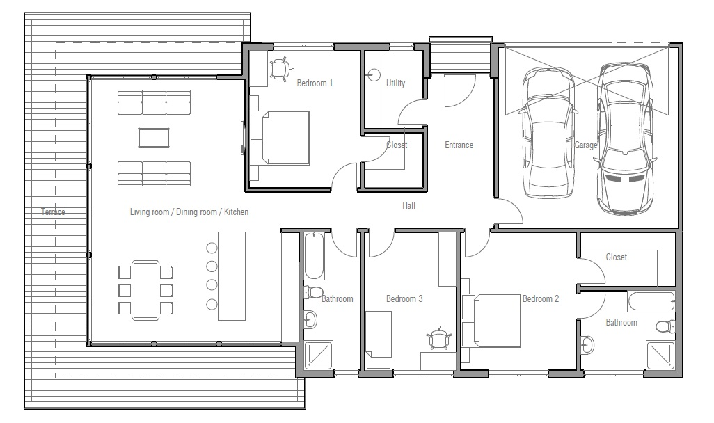 Townhouse Plans With Double Garage Escortsea – Townhouse Plans With Double Garage