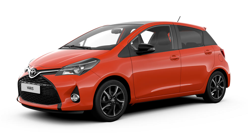 Toyota Celebrates Production Milestone With Yaris Orange Edition