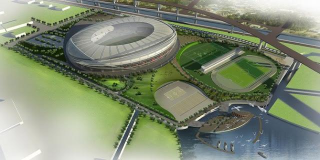 Sandiaga targetkan pembangunan Stadion BMW selesai 2,5 tahun