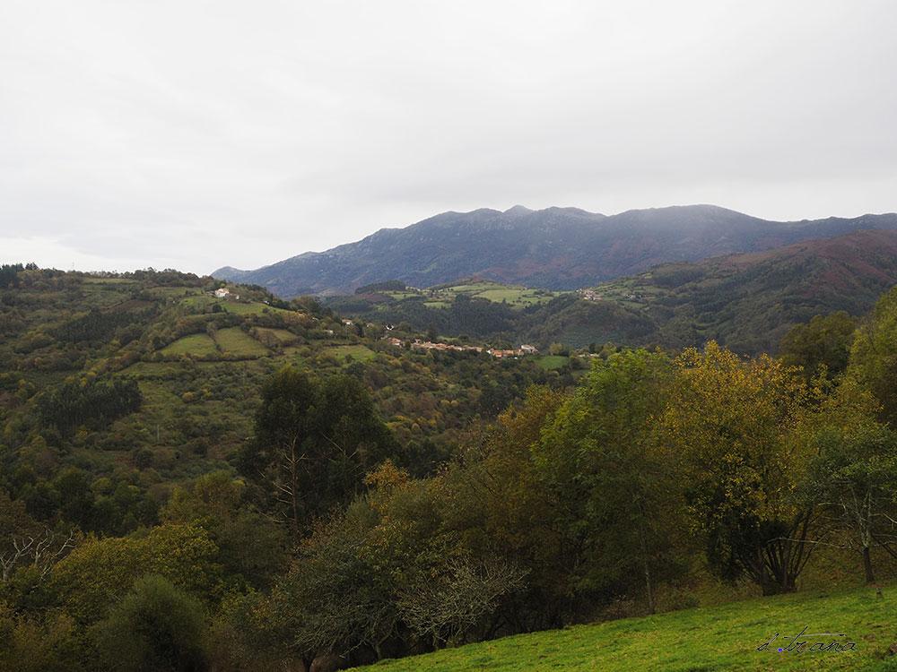 Vistas del valle desde la entra de Sietes