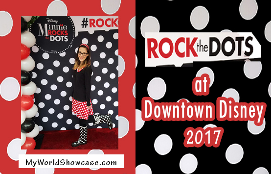 Rock the Dots at Downtown Disney 2017