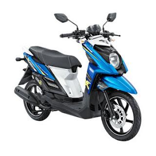 Dealer Motor Yamaha X-Ride Murah di Solo Biru