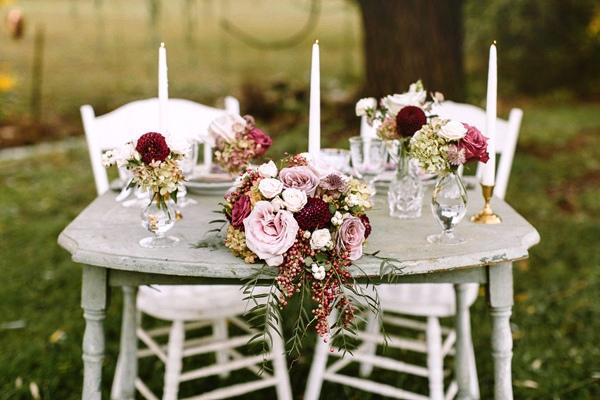 ideas para una pequeña celebración de boda en invierno chicanddeco