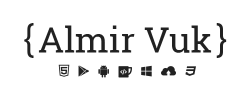 Almir Vuk - visit almirvuk.com for new website :)