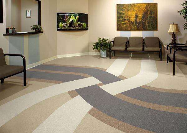 Linoleum Floor Tiles