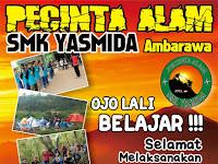 Design Ucapan Selamat Ujian Oleh Pecinta Alam SMK Yasmida