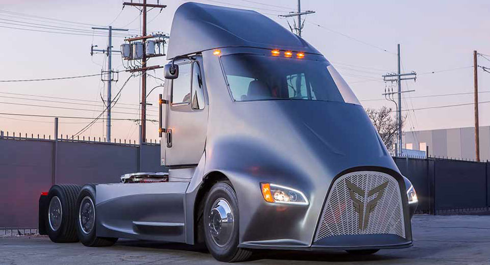 Tesla's All-Electric Semi Truck Has Some New Competition