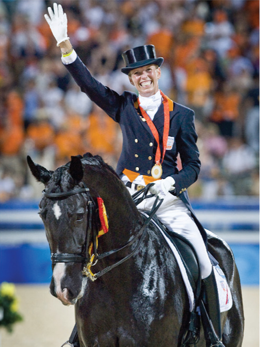 Anky Van Grunsven For 7th Time At Olympic Games And