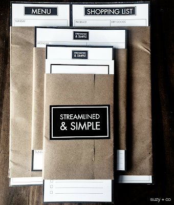 simple stationary and notepads