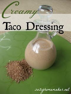 creamy taco dressing | suzyhomemaker.net