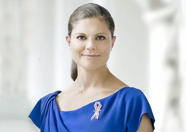 Swedish Cancer Research Society, that is, Klas Karre, Ulrika Arehed Kagström and Alexandra von Melen had visited Crown Princess Victoria at Stockholm Royal Palace