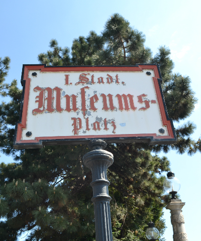 museumsplatz sign wien