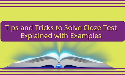 cloze test tricks