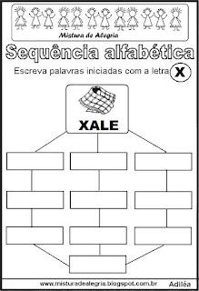 Sequência alfabética letra X