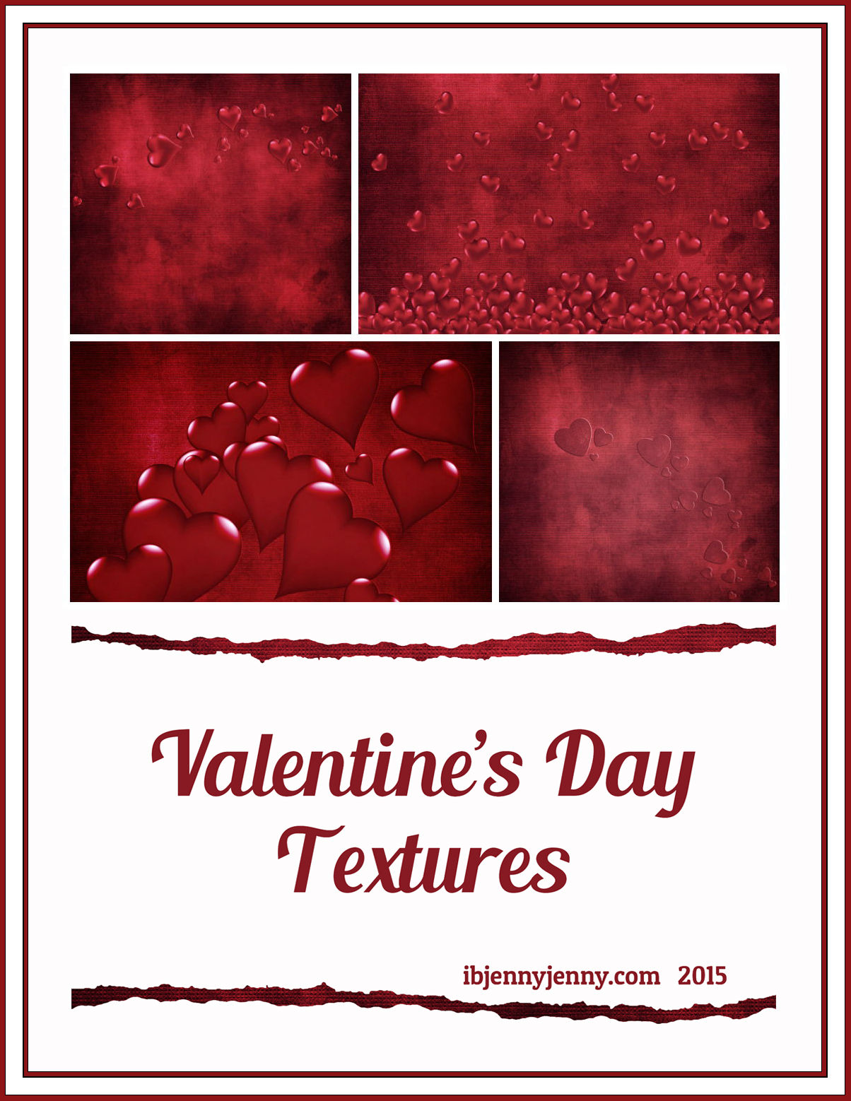 valentines day Red textures preview