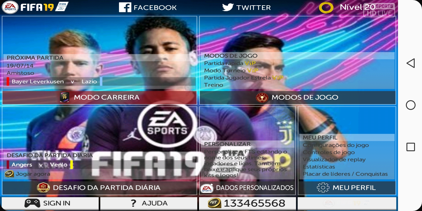 FTS 19 MOD FIFA 19 Android Offline 250MB New Transfers
