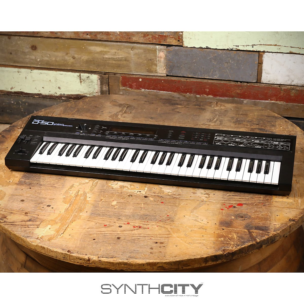MATRIXSYNTH: Roland D-50 Linear Synthesizer
