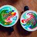 LATTE COFFEE WARNA WARNI DAN KESENIANNYA YANG UNIK