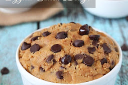 Healthy Gluten Free Eggless Cookie Dough