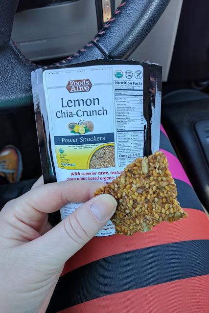 Foods Alive - Power Snackers - Lemon Chia Crunch