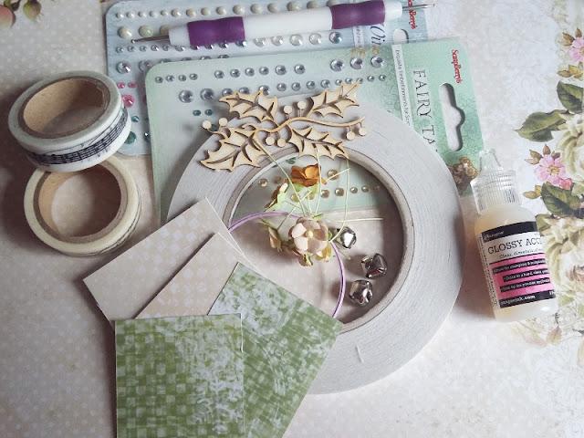 Kurs na pudełeczko na świąteczny prezent - DIY Scrap Ścinki