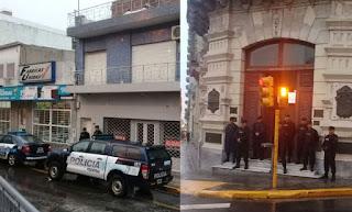 En los primeros minutos de este martes, efectivos de la Policía llevaron adelante múltiples allanamientos, que abarcan la Municipalidad, el Concejo Deliberante y la casa materna del intendente de Paraná.