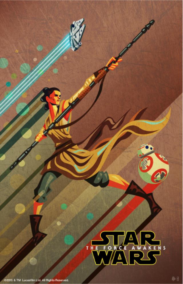 The Geeky Nerfherder: #CoolArt: u0026#39;Star Wars: The Force ...