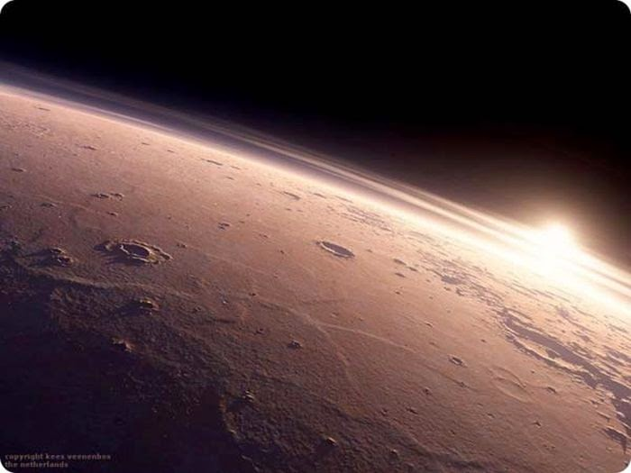 Sunrise On Mars Damn Cool Pictures