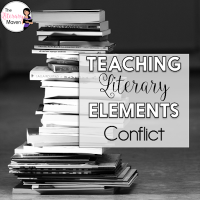 Conflict is a term I introduce while teaching plot, but then spend a week diving into the difference between internal and external as well as the different types of external conflicts a character can face. Whether you are teaching these as new concepts for your students, diving in deeper, or just reviewing the basics, read on to find activities and resources that will benefit all levels of students.