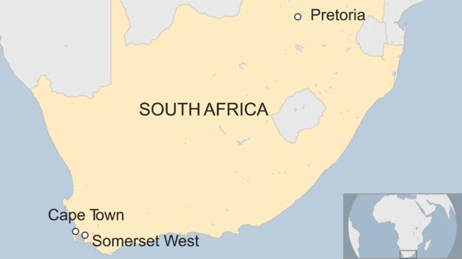 Eight killed in munitions explosion in South Africa