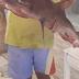 Έπιασε καρχαρία κοντά στη Γαύδο Είναι μήκους 1,5 μέτρου και βάρους 30 κιλών
