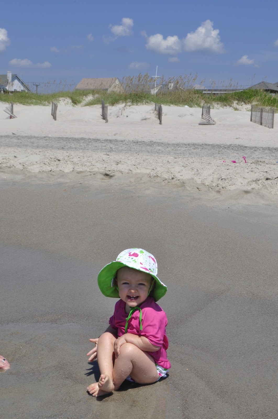 my Wee Little baby featuring the UV shirt and matching swim diaper   sun hat 30e56b0ee1f