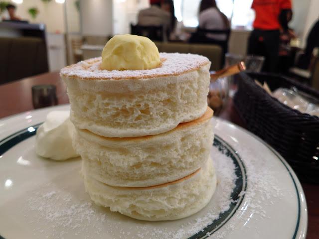 Japanese Gram Cafe Premium Pancake.Tokyo Consult. TokyoConsult
